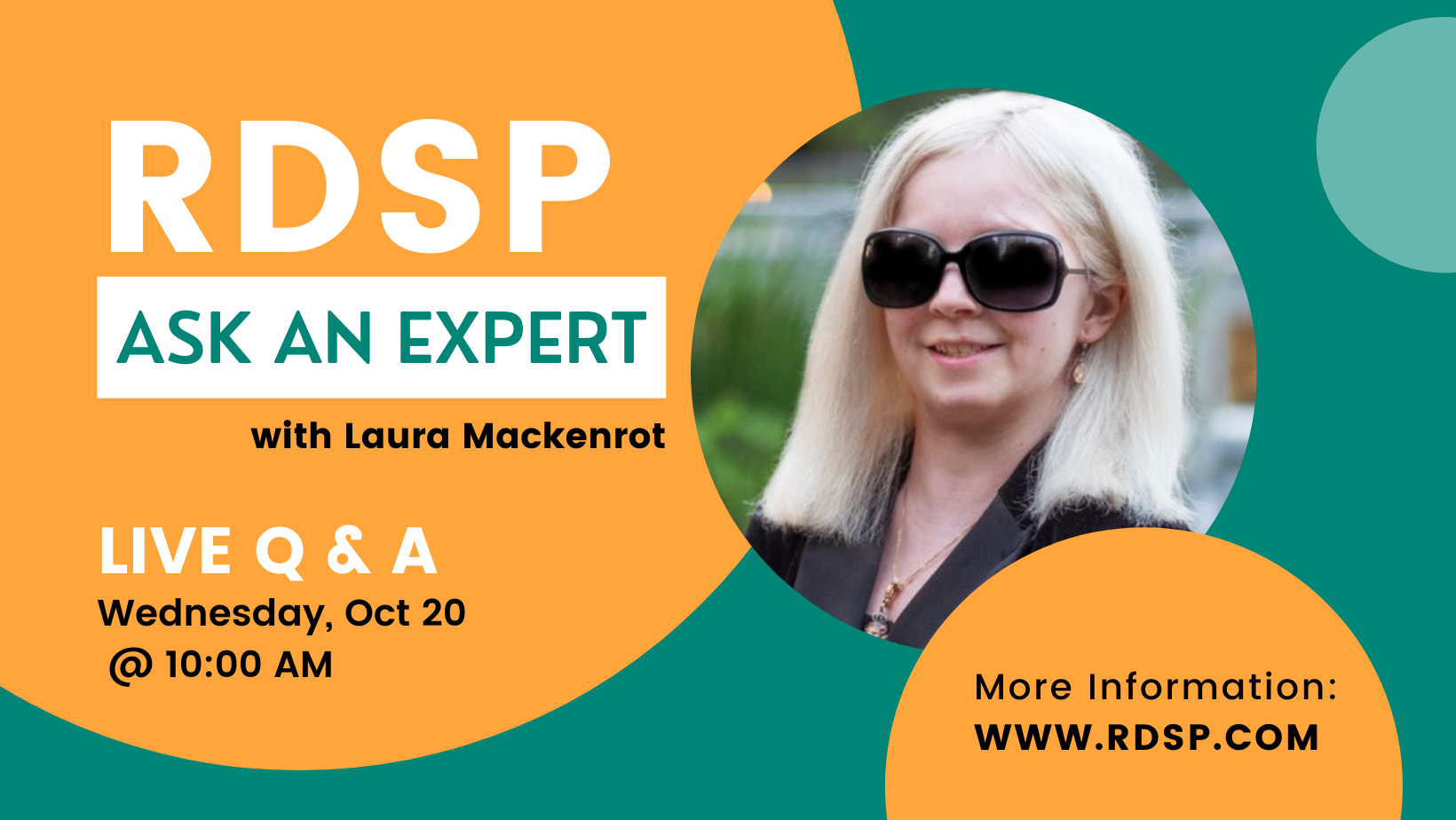 Graphic for RDSP Ask an Expert